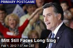 Mitt Still Faces Long Fight