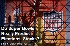 Do Super Bowls Really Predict Elections, Stocks?