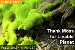 Thank Moss for Livable Planet