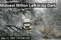 Midwest Million Left in Icy Dark