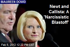 Newt and Callista: A 'Narcissistic Blastoff'
