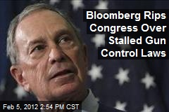 Bloomberg Rips Congress Over Stalled Gun Control Laws