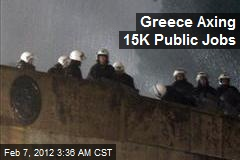 Greece Axing 15K Public Jobs