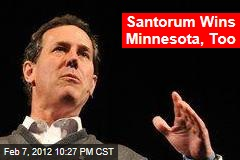 Santorum Ahead in Minn., Colo.