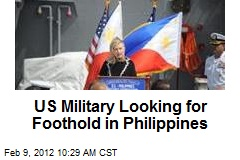 US Military Looking for Foothold in Philippines