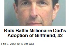 Kids Battle Millionaire Dad's Adoption of Girlfriend, 42