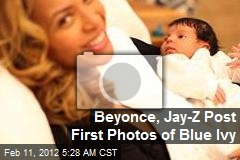 Beyonce, Jay-Z Post First Photos of Blue Ivy