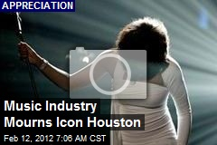 Music Industry Mourns Icon Houston