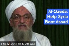 Al-Qaeda: Help Syria Boot Assad
