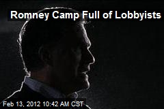 Romney Camp Full of Lobbyists