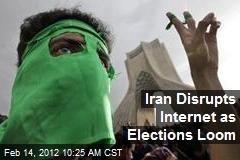 Iran Disrupts Internet as Elections Loom