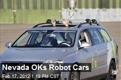 Nevada OKs Robot Cars