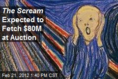 The Scream Expected to Fetch $80M at Auction