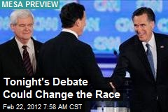 Tonight's Debate Could Change the Race