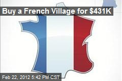 Buy a French Village for $431K