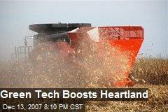 Green Tech Boosts Heartland