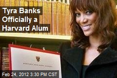 Tyra Banks Officially a Harvard Alum