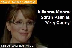 Julianne Moore: Sarah Palin Is 'Very Canny'