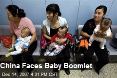 China Faces Baby Boomlet