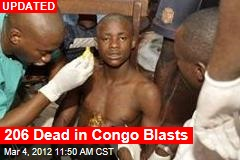 206 Dead in Congo Blasts