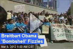 Breitbart Obama 'Bombshell' Fizzles