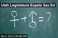 Utah Legislature Expels Sex Ed