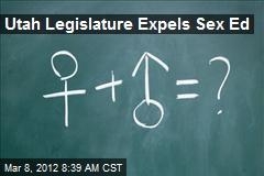 Utah Legislature Expels Sex Ed