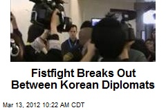 Fistfight Breaks Out Between Korean Diplomats
