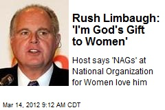 Rush Limbaugh: 'I'm God's Gift to Women'