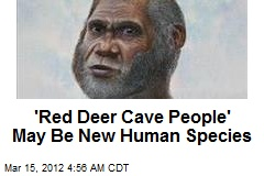 'Red Deer Cave People' May Be New Species