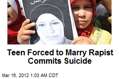 Teen Forced to Marry Rapist Commits Suicide