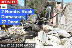 2 Bombs Rock Damascus