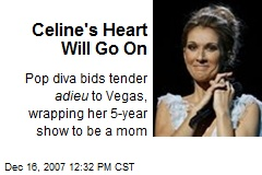 Celine's Heart Will Go On