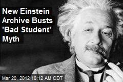 New Einstein Archive Busts 'Bad Student' Myth