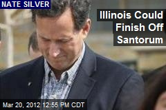 Illinois Could Finish Off Santorum