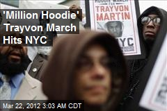'Million Hoodie' Trayvon March Hits NYC