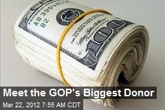 Meet the GOP's Biggest Donor