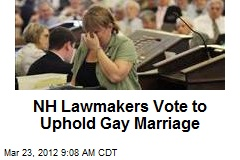 NH Lawmakers Vote to Uphold Gay Marriage