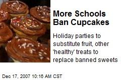 More Schools Ban Cupcakes