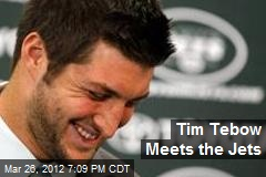 Tim Tebow Meets the Jets