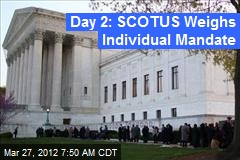 Day 2: SCOTUS Weighs Individual Mandate