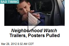 Neighborhood Watch Trailers, Posters Pulled