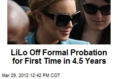 LiLo Off Formal Probation for First Time in 4.5 Years