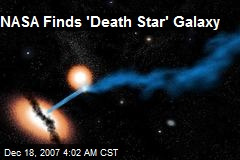 NASA Finds 'Death Star' Galaxy