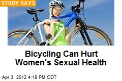 Bicycling Can Hurt Women's Sexual Health