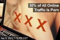 30% of All Online Traffic Is Porn