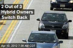 2 Out of 3 Hybrid Owners Switch Back