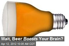 Wait, Beer Boosts Your Brain?