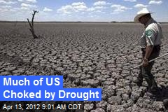 Much of US Choked by Drought