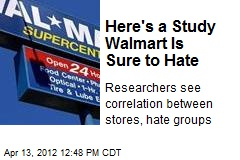 Big-Box Stores Tied to Hate Groups: Study